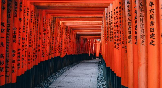Portes oranges kyoto