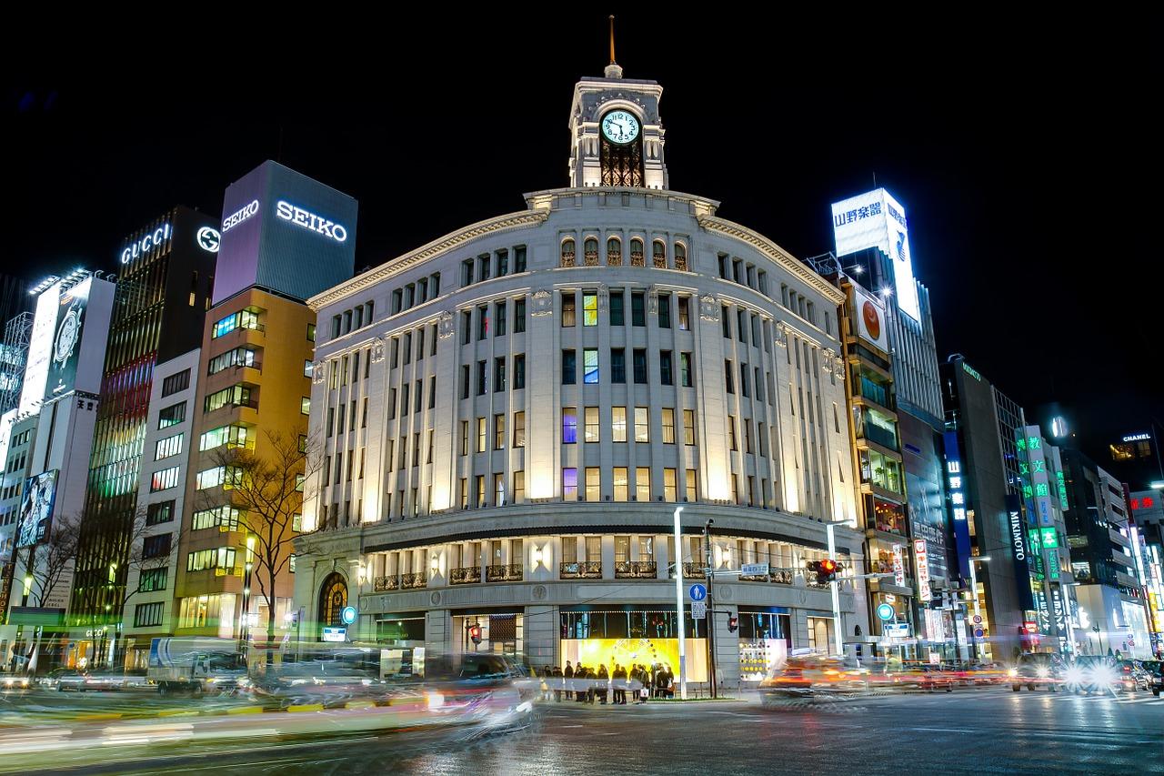 Les principales villes du Japon